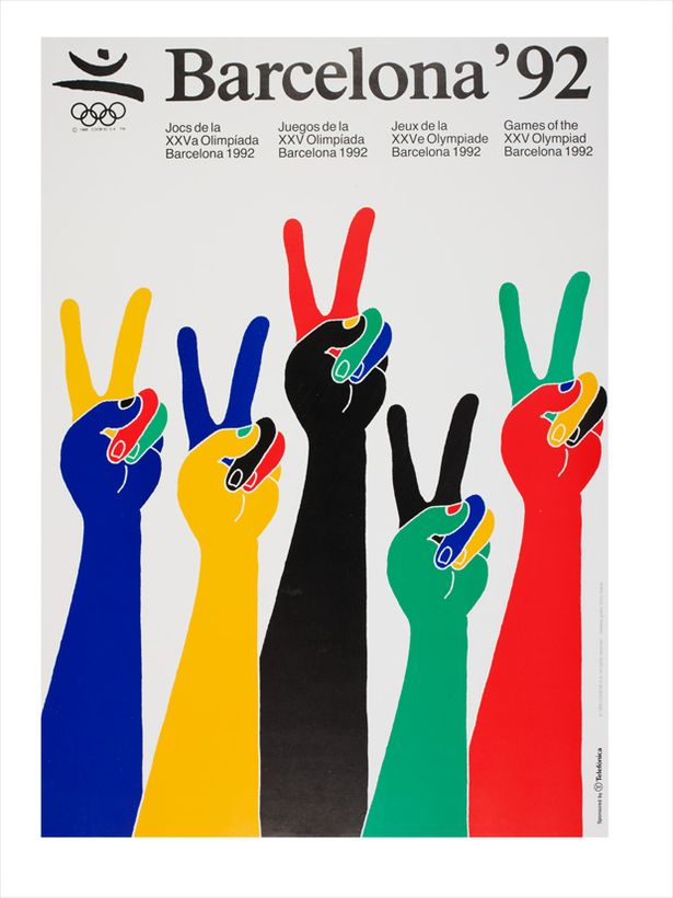 Official poster for Barcelona Olympic Games, 1992 -743864